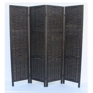 Beech 4 Panel Room Divider ByBreakwater Bay