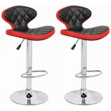 Shuman Adjustable Height Swivel Bar Stool (Set of 2) by Brayden Studio®