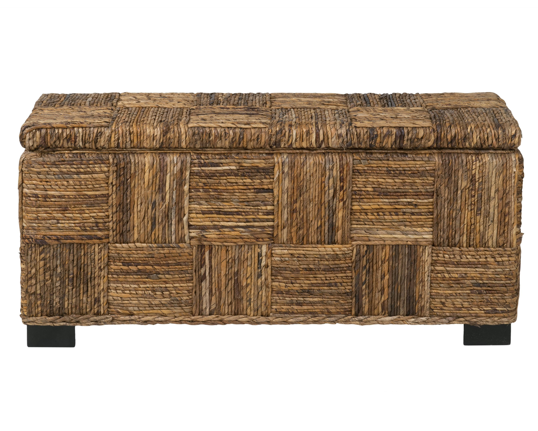 Birch Lane™ Colebrook Woven Storage Bench & Reviews | Birch Lane