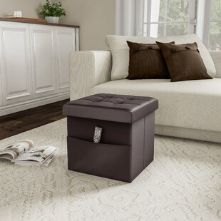 Charette Tufted Storage Ottoman by Charlton Home
