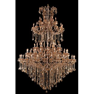 Regina 84-Light Candle Style Chandelier by House of Hampton