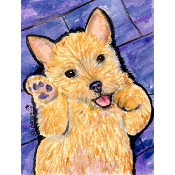 Caroline S Treasures Norwich Terrier 2 Sided Garden Flag Wayfair