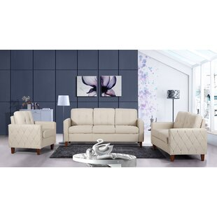 Castello 3 Piece Living Room Set