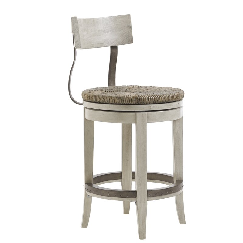 Oyster Bay 24 Swivel Bar Stool