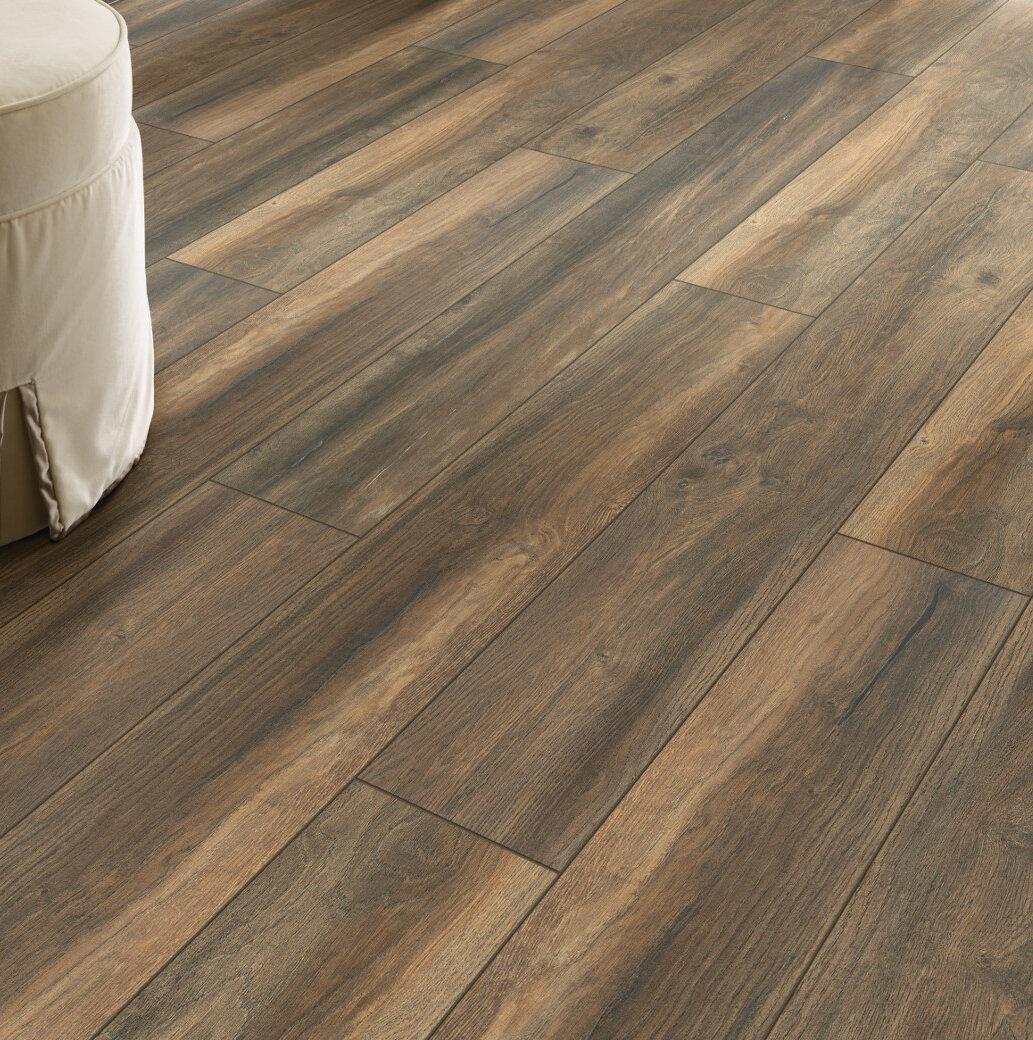 Shaw Floors Lynkins Park 8 X 51 X 8mm Oak Laminate Flooring In