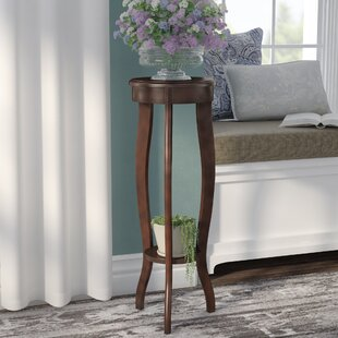 Reviews Timberlake Pedestal End Table by Alcott Hill