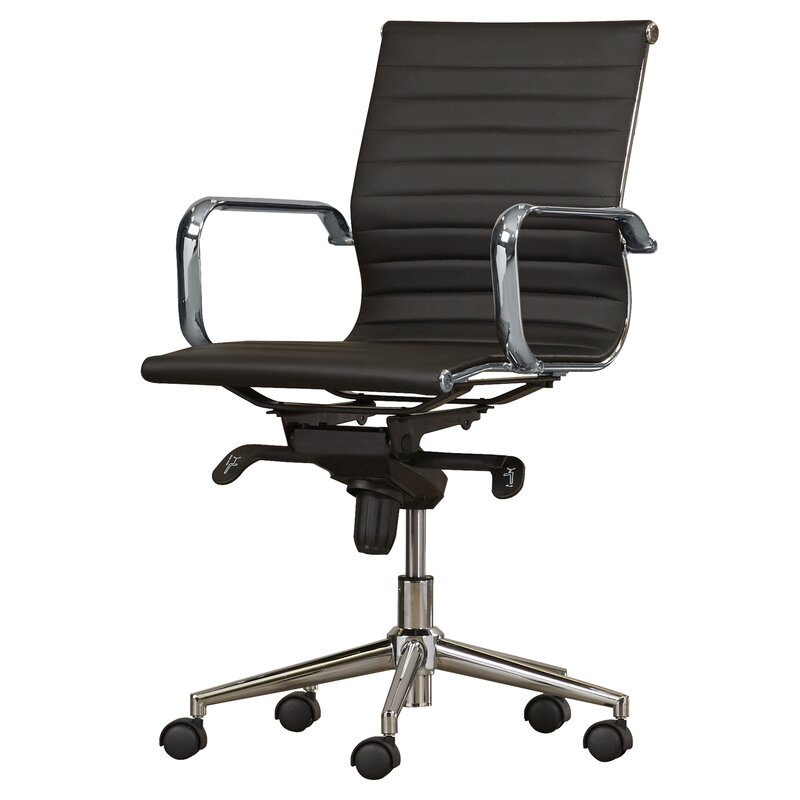 Annabell Mid Back Desk Chair Allmodern