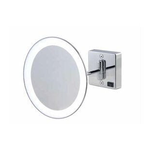 Check Prices Mirror Pure III LED Lighted 3x Magnifying Makeup Mirror By WS Bath Collections