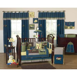 Construction Zone 9 Piece Crib Bedding Set