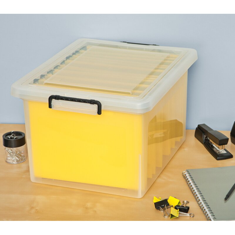 Letter / Legal File Box with Buckles