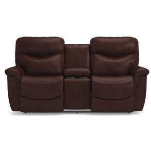 Best Price James LA-Z-TIME® Full Reclining Loveseat with Console by La-Z-Boy Reviews (2019) & Buyer's Guide