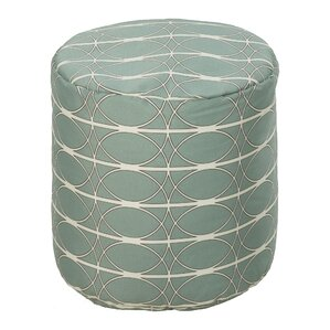 Dubose Ice Outdoor Pouf by Brayden Studio