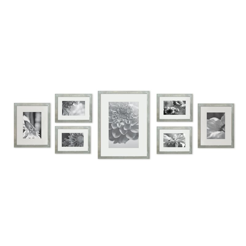 Gracie Oaks 7 Piece Marmont Wall Gallery Picture Frame Set   Wayfair