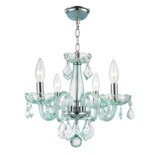 Yvette 4-Light Candle Style Chandelier