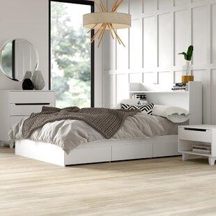 Massie Platform 3 Piece Bedroom Set by Mercury Row Best #1