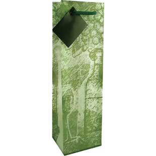 Frosted Chateau Single Bottle Carrier