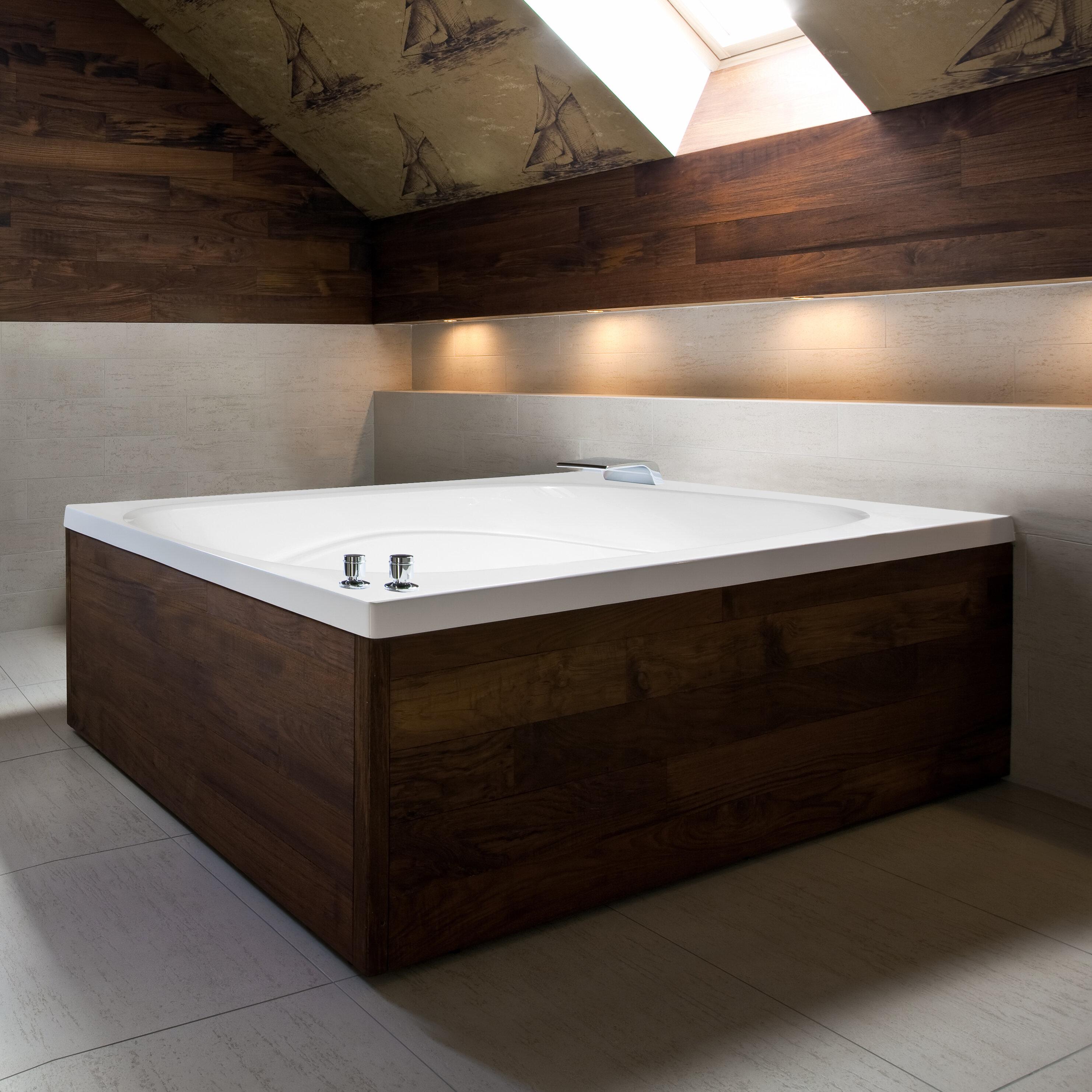 Hydro Systems Designer Alexis 60 X 48 Whirlpool Bathtub Wayfair