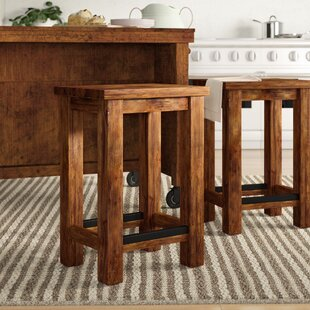 Vargas Solid Wood 26 Counter Stool