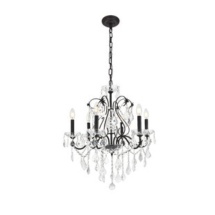 Affordable Price Thao 6-Light Candle Style Chandelier By Rosdorf Park