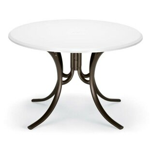 Searching for Werzalit 48 inch  Round Deluxe Dining Table Compare