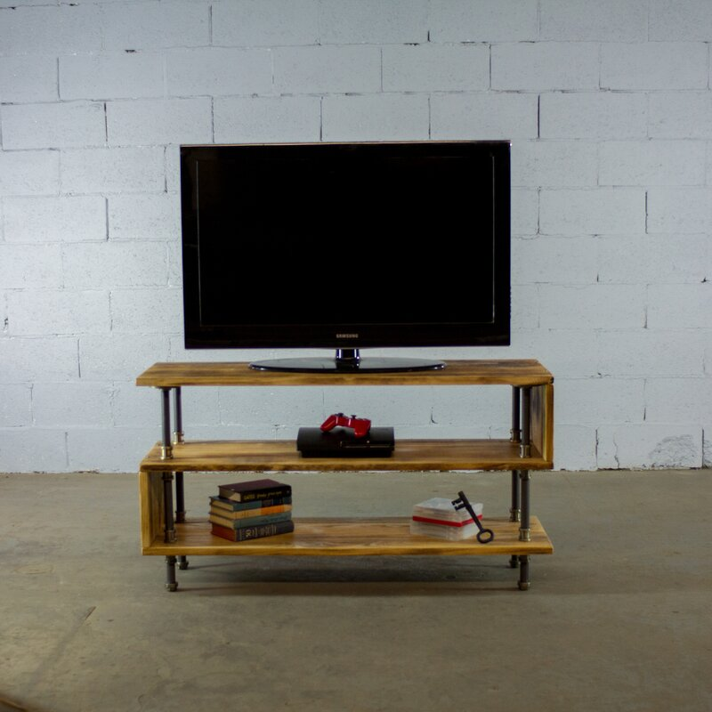 """17 Stories Amaliya TV Stand for TVs up to 48""""  Color: Light"""