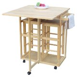 Bayville Rolling Kitchen Cart by Rosecliff Heights