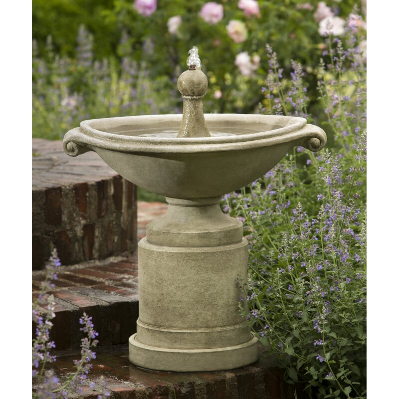Borghese Concrete Fountain