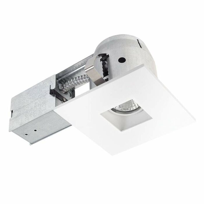 Integrated IC Rated Swivel Spotlight Square 4  Recessed Lighting Kit  sc 1 st  Wayfair & Globe Electric Company Integrated IC Rated Swivel Spotlight Square ... azcodes.com
