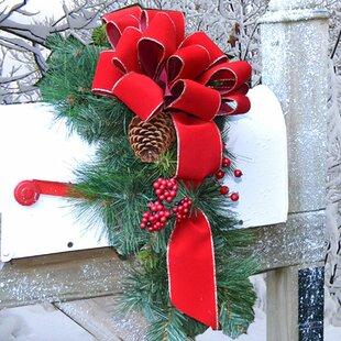 Holiday Mailbox Swag