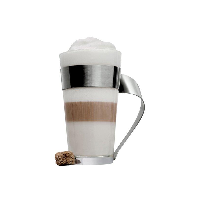 New Wave Caffe Glass Macchiato Mug