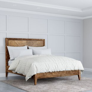 Ames Wooden Platform Bed