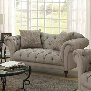Reviews Abigayle Transitional Loveseat by Rosdorf Park Reviews (2019) & Buyer's Guide
