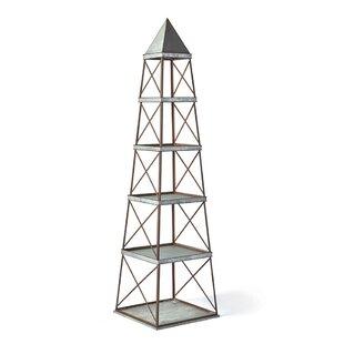 Crafton Obelisk Etagere Bookcase by Gracie Oaks