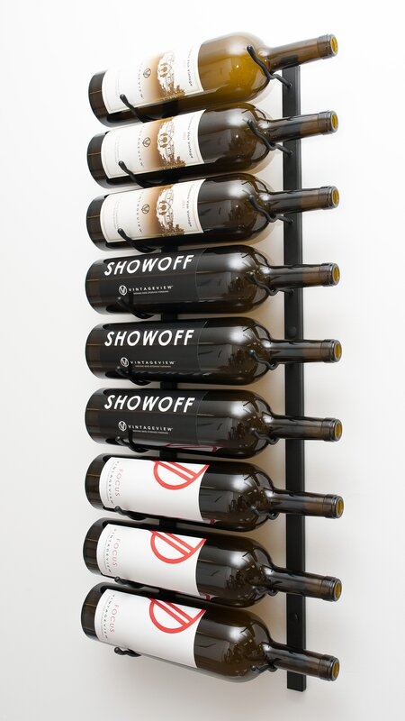 Superior Wall Wine Racks Part - 4: Wall Series 9 Bottle Wall Mounted Wine Rack