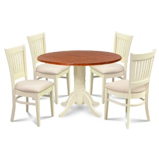 Thornhill 5 Piece Drop Leaf Solid Wood Dining Set