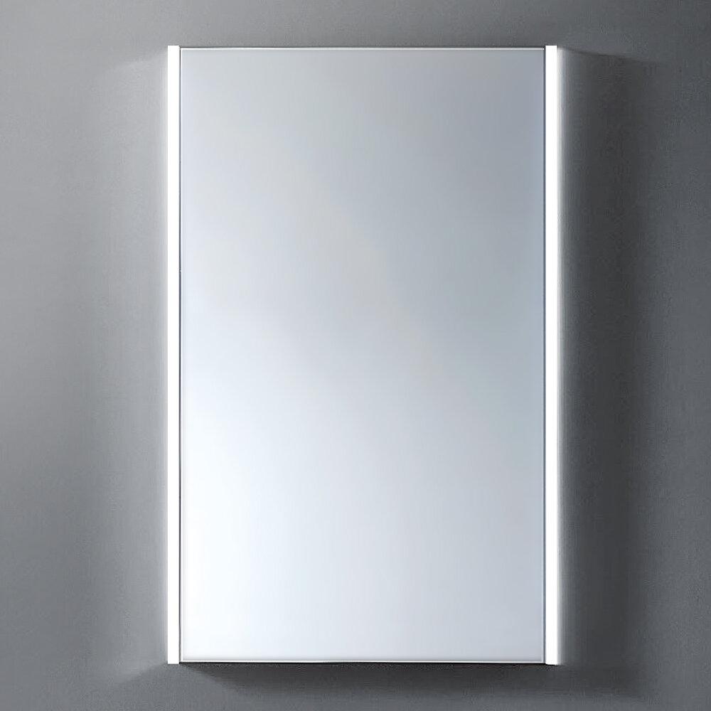 Orren Ellis Spiller Led Back Light Wall Hang Bathroom Vanity Mirror Wayfair