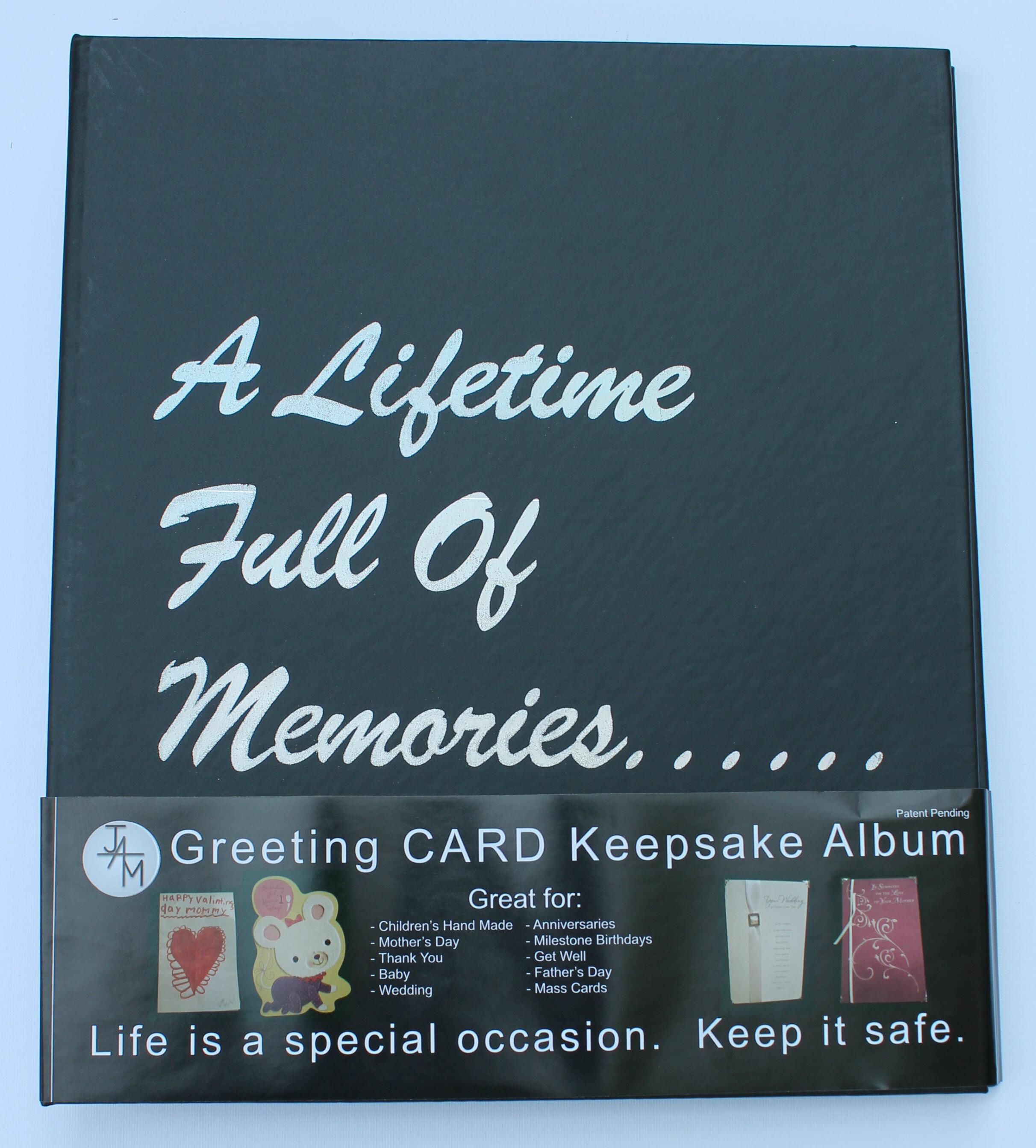 Ja marketing greeting cardkeepsake album wayfair m4hsunfo