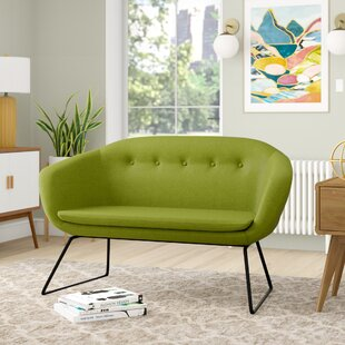 Price comparison Cessnock Tufted Settee by Wrought Studio Reviews (2019) & Buyer's Guide