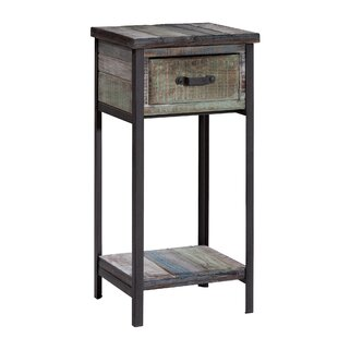 Clayera End Table With Storage