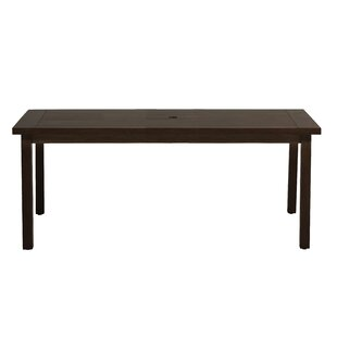 Club Rectangular Aluminum Dining Table