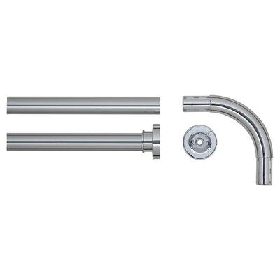 90 cm L-förmige Duschvorhangstange Afrin zum Festverschrauben | Bad > Duschen | Matt | Vi | Belfry Bathroom