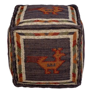 Branchwood Tribal Pouf Ottoman by Loon Peak