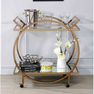 Kleckner Bar Cart by Everly Quinn