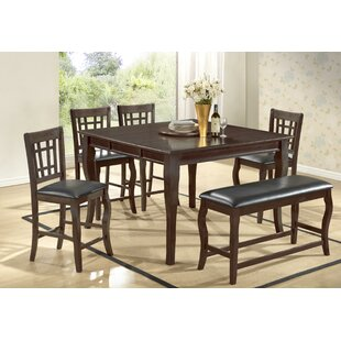 Betty 6 Piece Extendable Dining Set BestMasterFurniture