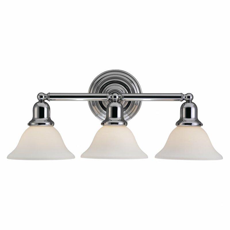 Arlington 3-Light Vanity Light  sc 1 st  Birch Lane & Birch Lane™ Arlington 3-Light Vanity Light u0026 Reviews | Birch Lane
