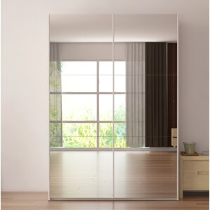 Zastrow 3 Drawers Armoire With Sliding Doors