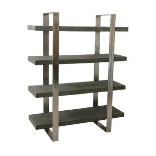 Buy clear Dearmond 4 Shelf Etagere Bookcase by Foundry Select