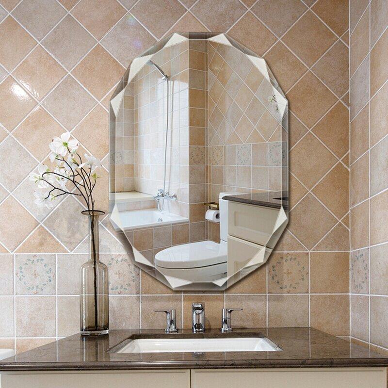 Rosdorf Park Risborough Glam Bathroom Mirror Reviews Wayfair