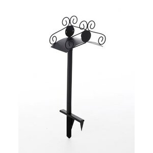 Ornamental Steel Hose Holder