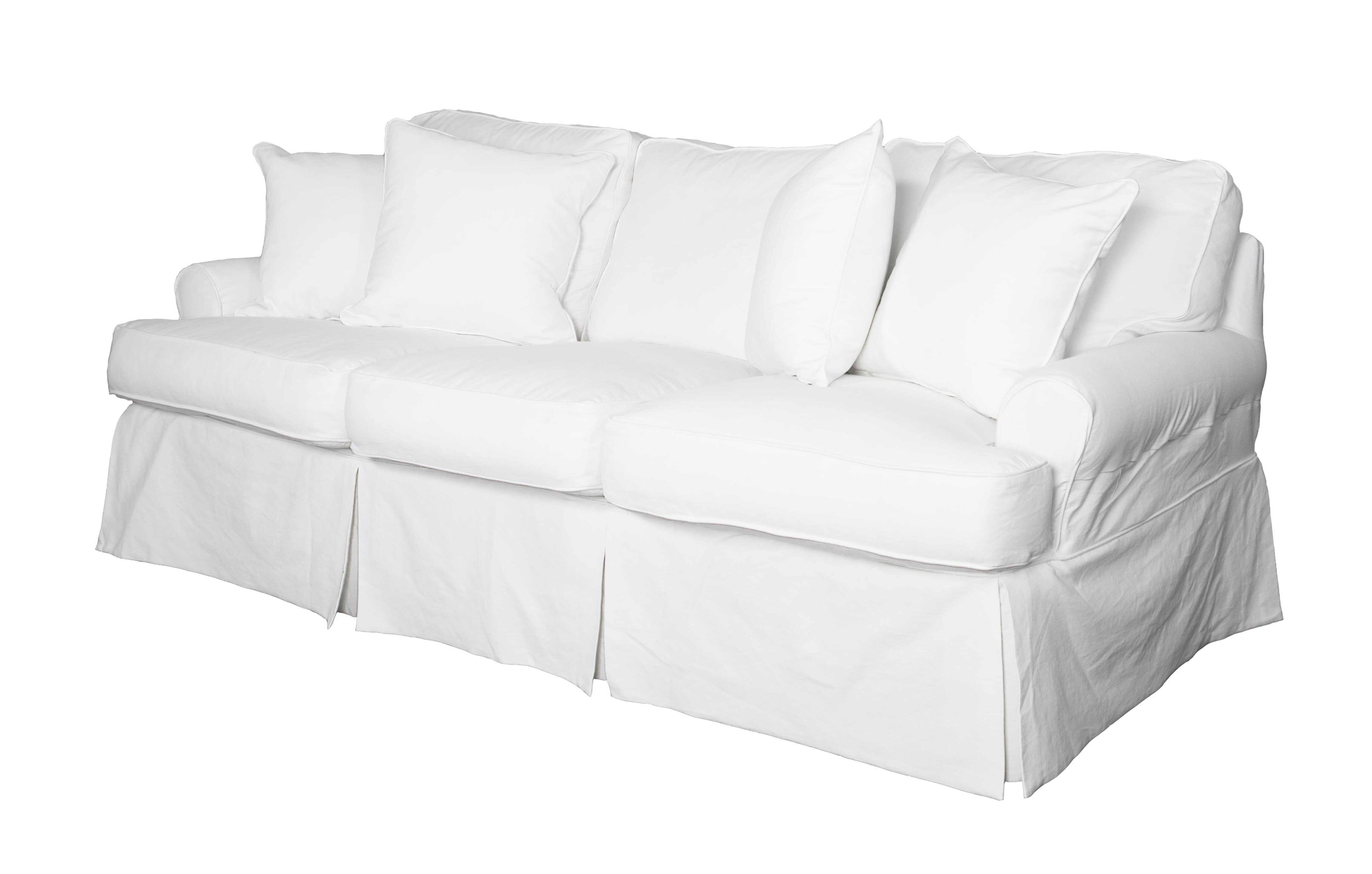 Beachcrest Home Coral Gables T Cushion Sofa Slipcover Reviews
